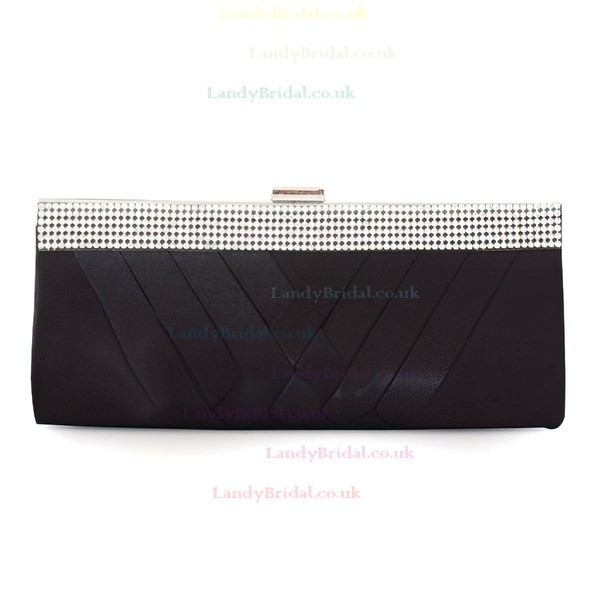 Black Silk Ceremony & Party Beading Handbags