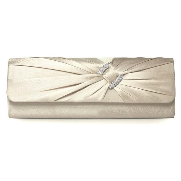 Red Silk Wedding Crystal/ Rhinestone Handbags
