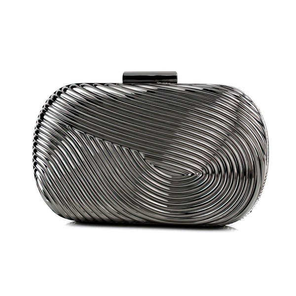 Silver Metal Office & Career Metal Handbags #LDB03160271