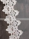 One-tier Ivory Cathedral Bridal Veils with Applique #LDB03010070