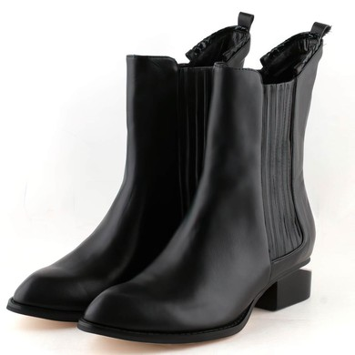 Women's Black Nubuck Closed Toe with Split Joint #LDB03030275