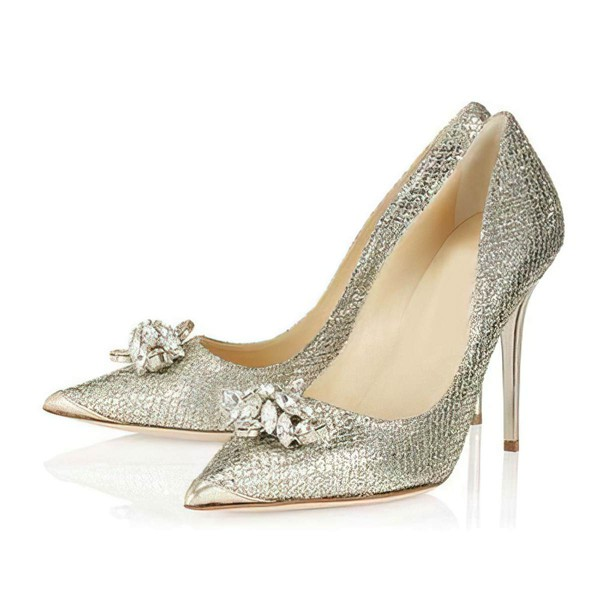 Women's Multi-color Sparkling Glitter Closed Toe with Rhinestone #LDB03030300