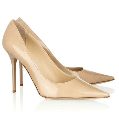 Women's Camel Patent Leather Closed Toe #LDB03030311