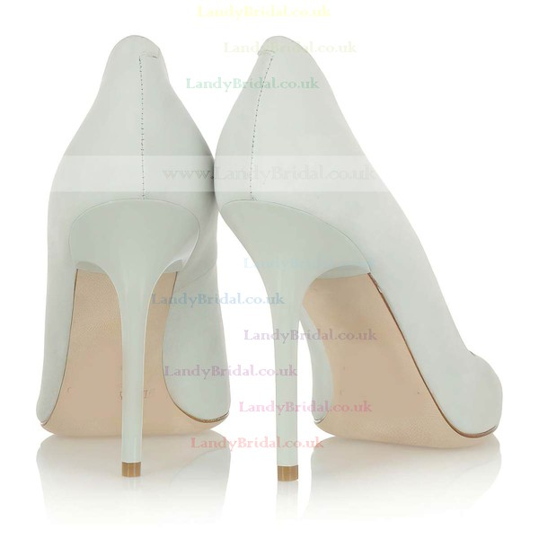 Women's Ivory Suede Closed Toe #LDB03030312