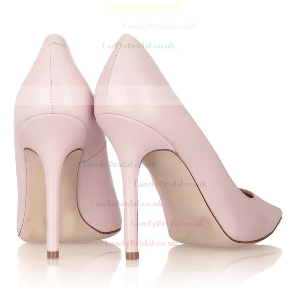 Women's Pink Patent Leather Pumps #LDB03030313
