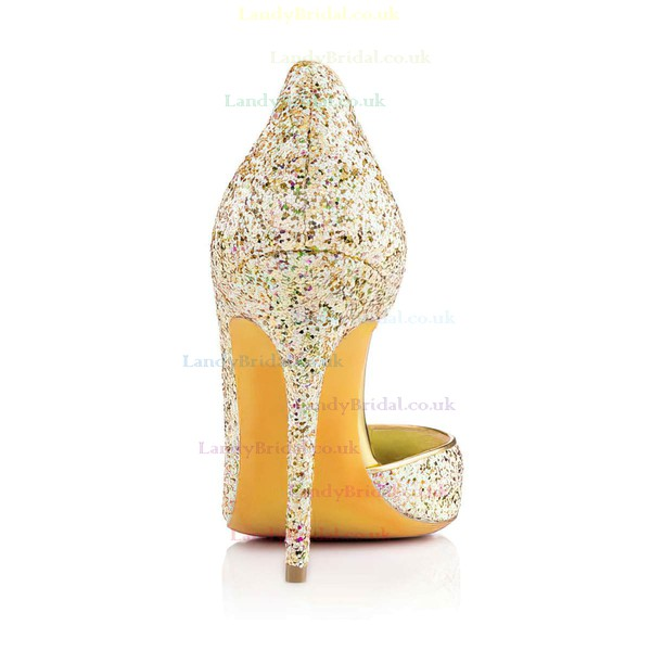 Women's Multi-color Sparkling Glitter Pumps with Sequin #LDB03030317