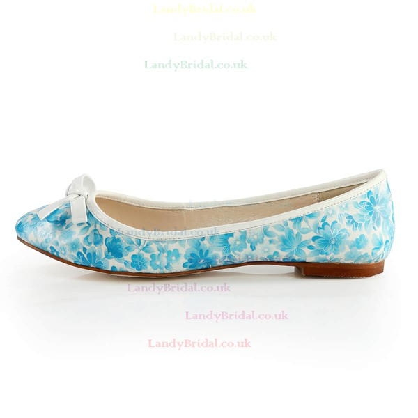 Women's  Cloth Closed Toe with Bowknot