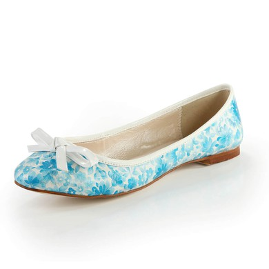 Women's  Cloth Closed Toe with Bowknot #LDB03030370