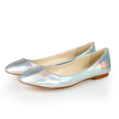 Women's Multi-color Patent Leather Closed Toe #LDB03030371