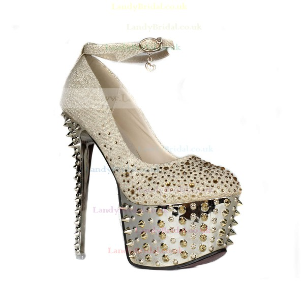 Women's  Sparkling Glitter Pumps with Crystal/Sparkling Glitter/Rivet