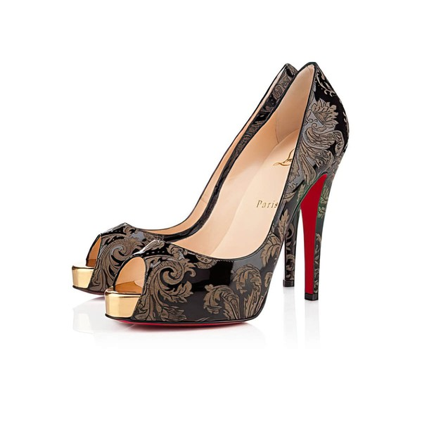 Women's  Leatherette Pumps with Split Joint #LDB03030527