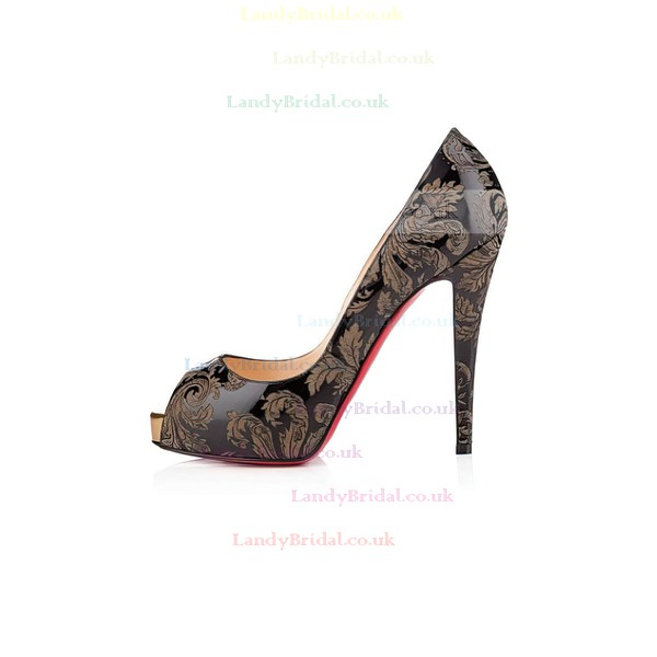 Women's  Leatherette Pumps with Split Joint