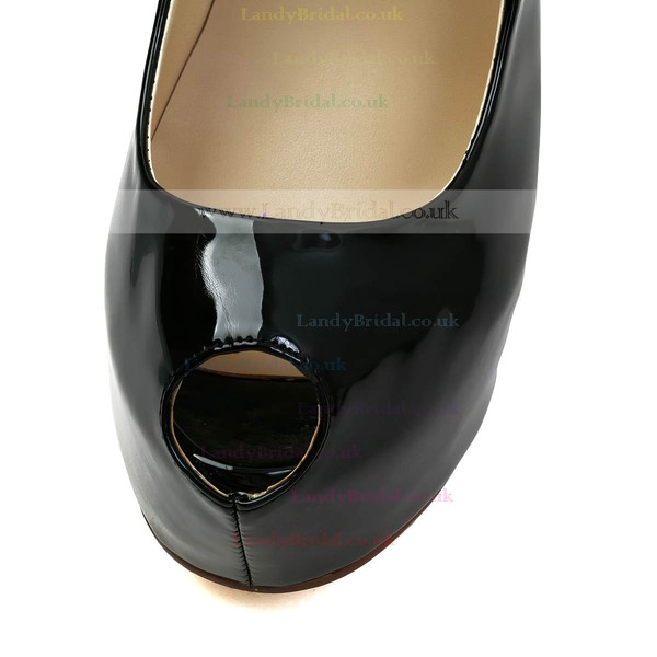 Women's Black Patent Leather Pumps