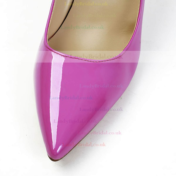 Women's Fuchsia Patent Leather Pumps