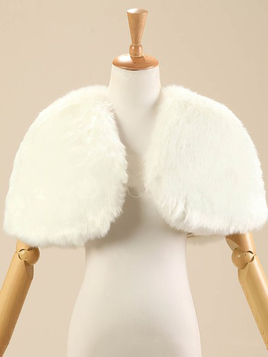 Faux Fur Sleeveless Shawl #LDB03040016