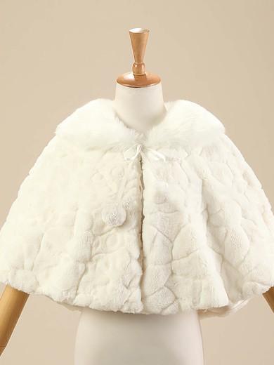 Faux Fur Sleeveless Shawl #LDB03040017