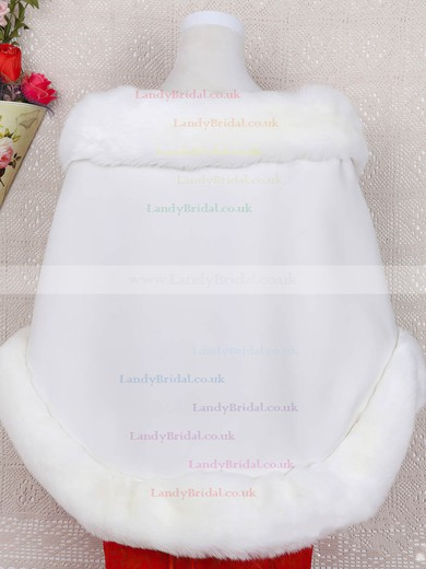 Faux Fur Sleeveless Shawl #LDB03040044
