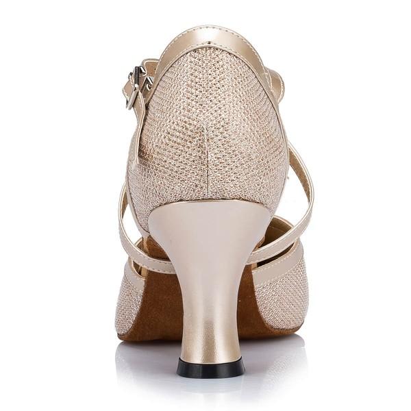 Women's Silver Sparkling Glitter Stiletto Heel Heels