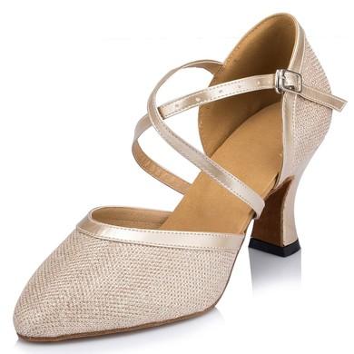 Women's Silver Sparkling Glitter Stiletto Heel Heels #LDB03030659