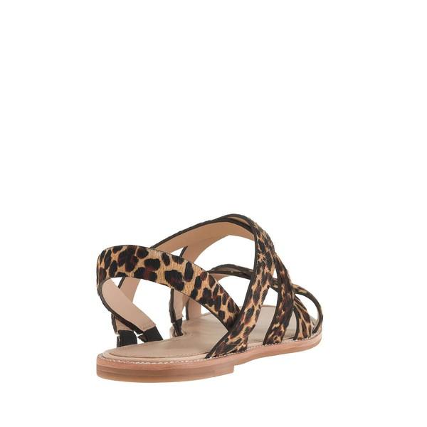 Women's Leopard Velvet Flat Heel Flats