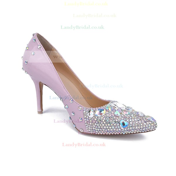 Women's Multi-color Patent Leather Stiletto Heel Pumps