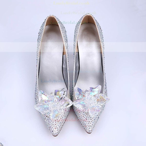 Women's Multi-color Sparkling Glitter Stiletto Heel Pumps