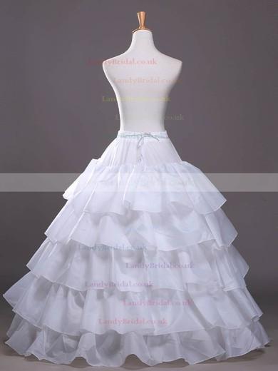 Satin A-Line Slip 4 Tiers Petticoats #LDB03130025