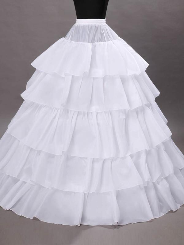 Taffeta Ball Gown Slip 5 Tiers Petticoats