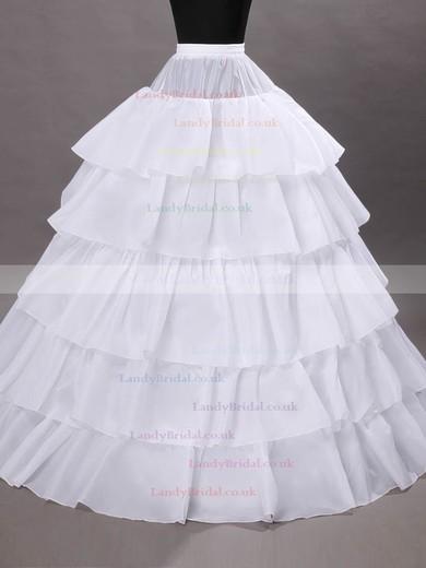 Taffeta Ball Gown Slip 5 Tiers Petticoats #LDB03130027