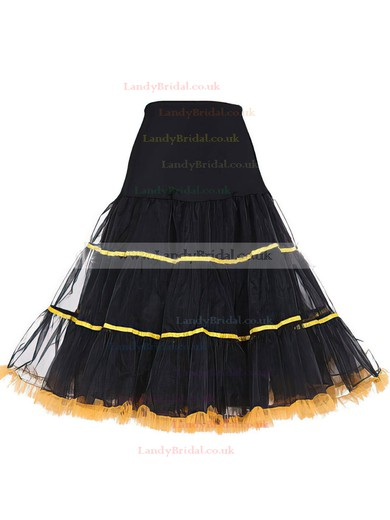 Tulle Netting A-Line Slip 4 Tiers Petticoats #LDB03130030
