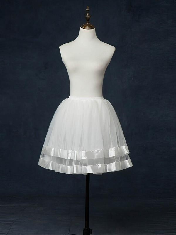 Tulle Netting Short Flare Slip 5 Tiers Petticoats