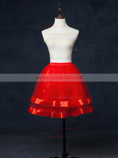 Tulle Netting Short Flare Slip 5 Tiers Petticoats #LDB03130031