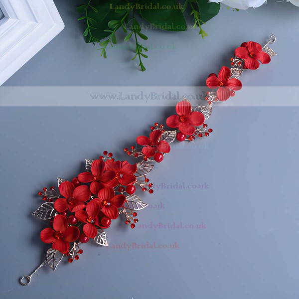 Red Alloy Headbands