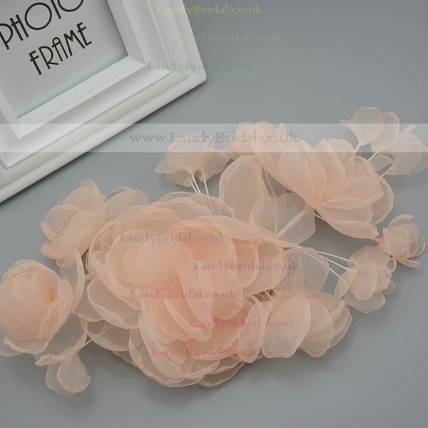 Orange Tulle Headbands