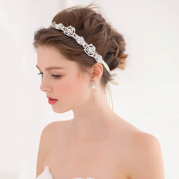 Silver Alloy Headbands #LDB03020058