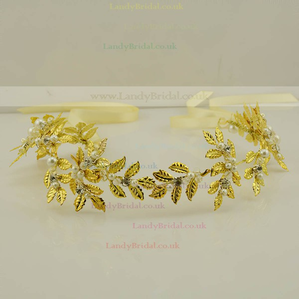 Gold Alloy Headbands