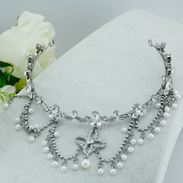 Silver Alloy Headbands #LDB03020060