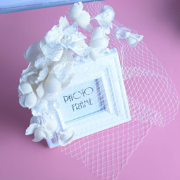Ivory Lace Fascinators #LDB03020065