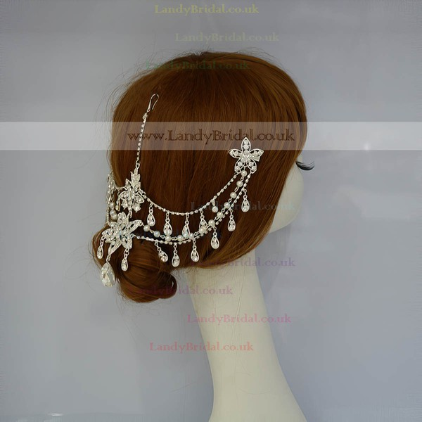 Silver Alloy Forehead Jewelry