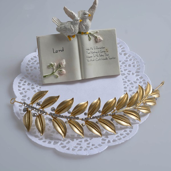 Silver Alloy Headbands #LDB03020067