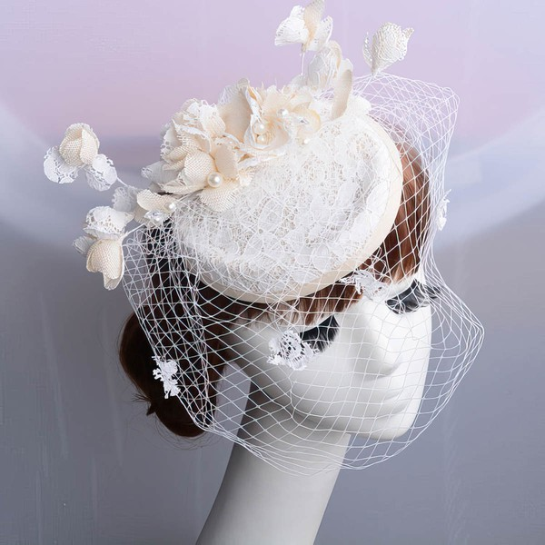 Ivory Lace Fascinators #LDB03020069