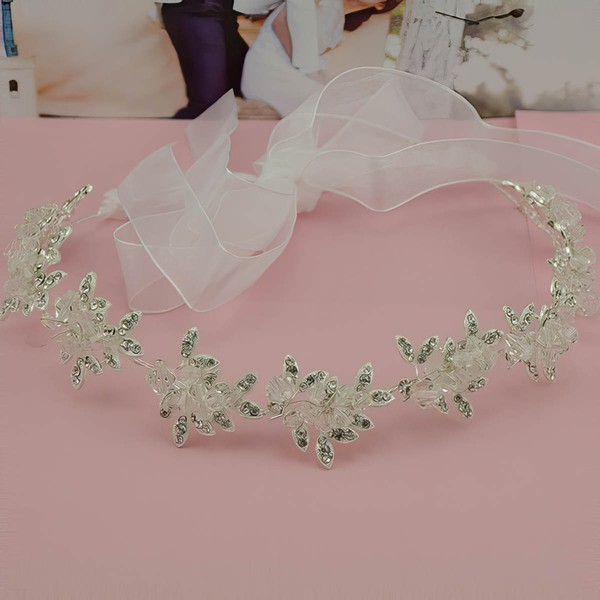 Silver Alloy Headbands #LDB03020070
