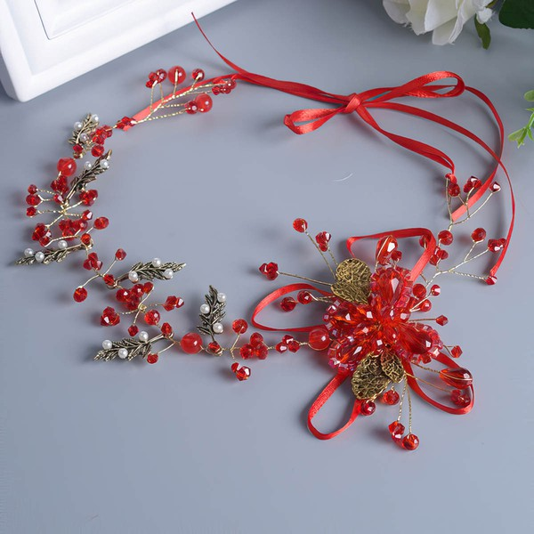 Red Alloy Headbands #LDB03020078