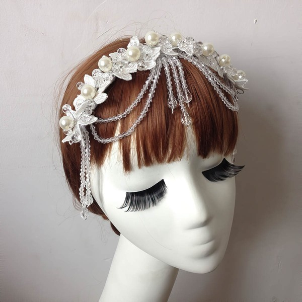 Ivory Pearl Forehead Jewelry #LDB03020081