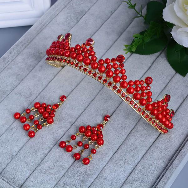 Red Alloy Tiaras