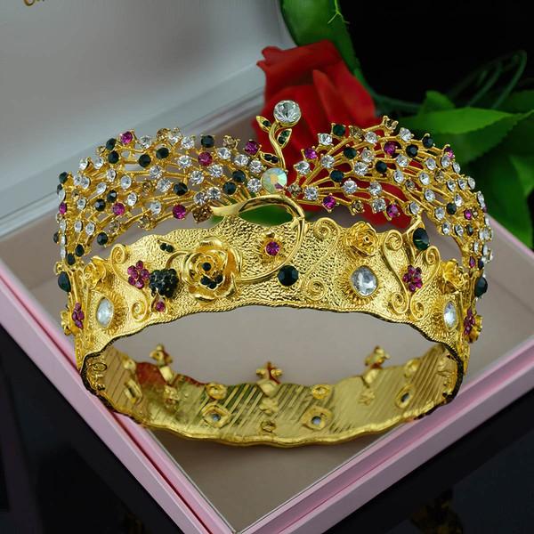 Gold Alloy Tiaras #LDB03020160
