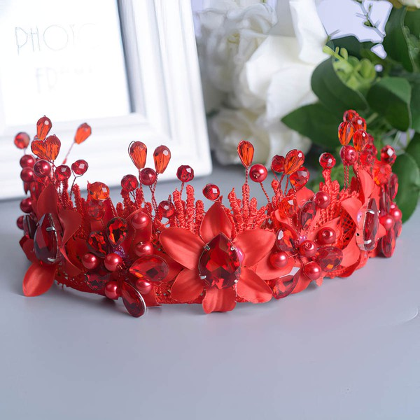 Red Crystal Headbands #LDB03020189