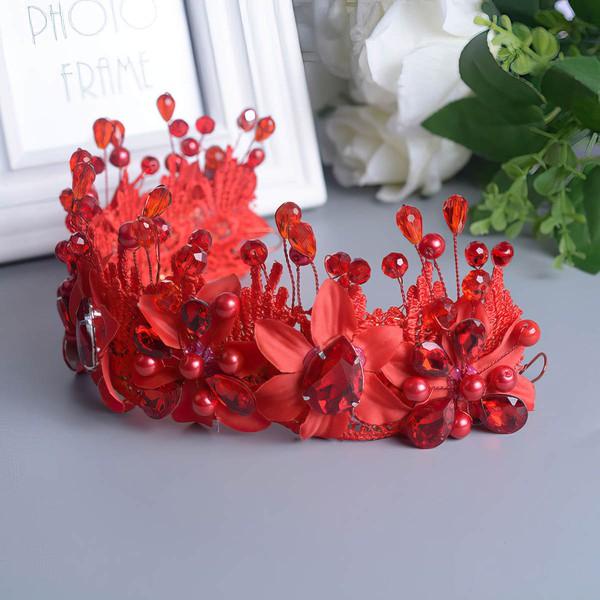 Red Crystal Headbands