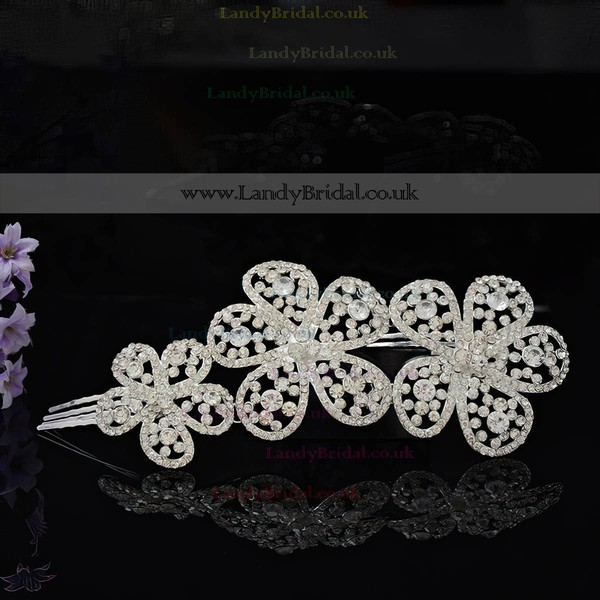 White Alloy Hairpins #LDB03020247