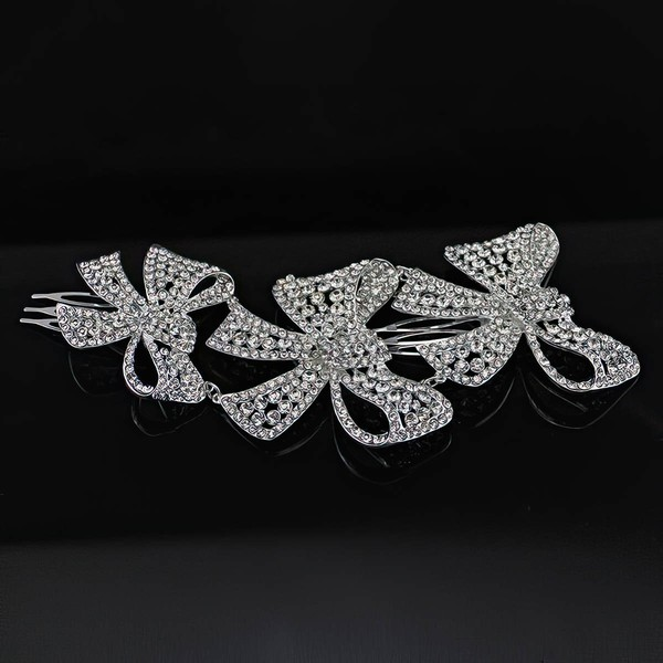 Silver Alloy Hairpins #LDB03020248